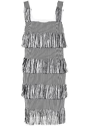 Prism Nevis fringed cotton dress