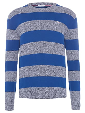 Tommy Jeans SWEATER MASCULINO RUGBY STRIPE - AZUL