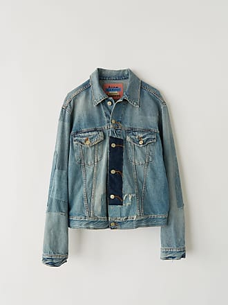 Acne Studios Acne Studios 1998 Vintage patch Indigo blue Denim jacket