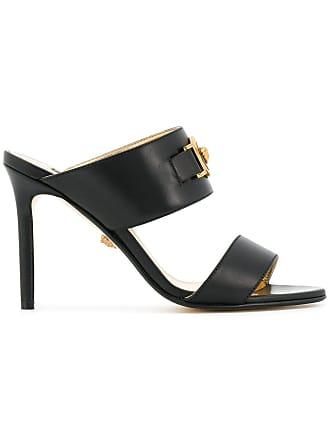 4b6e9d91063e Versace slip-on Medusa sandals - Black