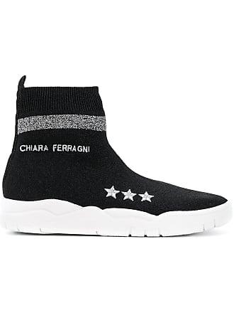 Chiara Ferragni Tênis meia - Preto
