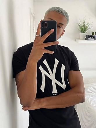 New Era MLB - Schwarzes T-Shirt mit New York Yankees -Logo