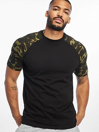 DEF Kami T-Shirt Black/Green/Camouflage