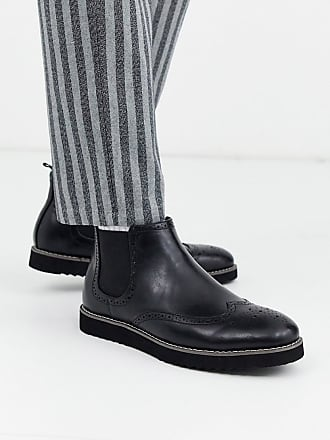 Truffle chelsea boot in black