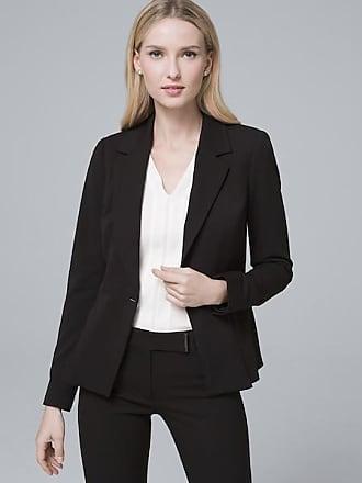 White House Black Market Womens All-Season Blazer Jacket by White House Black Market, Black, Size 16