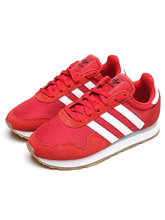 separation shoes c16bb 0cb39 adidas Originals Tênis adidas Originals Haven J Vermelho