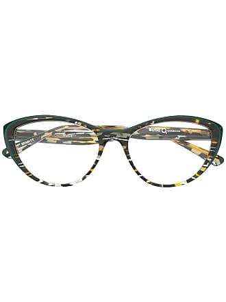 Etnia Barcelona Armação de óculos estampada - Marrom