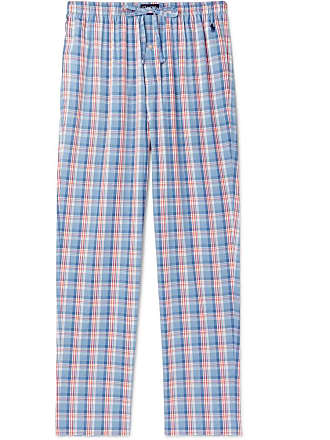Polo Ralph Lauren Checked Cotton Pyjama Trousers - Blue 35d1fafade364