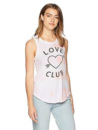 Chaser Womens Cotton Jersey Crew Neck Muscle Tank, tie dye, S
