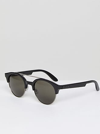 Carrera Gafas de sol de plástico con montura redonda de Carrera 9e51854e3d