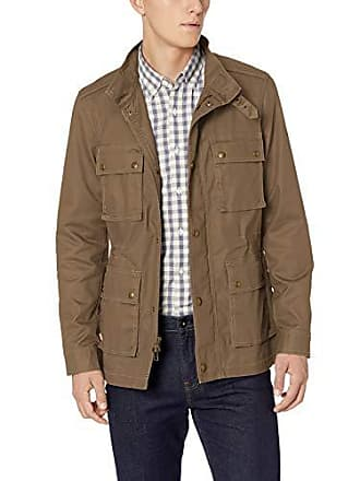 Goodthreads Mens Moto Jacket, Brown, XXX-Large