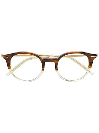 Tomas Maier square glasses - Brown
