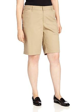 Dickies Womens Plus-Size 10-Inch Stretch Twill Short, Desert Sand, 22W