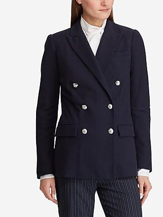 329ce4da0f4 Lauren Ralph Lauren Veste blazer Ryen ajustée Bleu Lauren Ralph Lauren