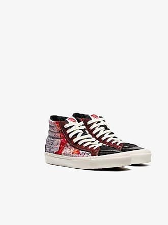a68a335168 Vans X Ralph Steadman red OG SK8 hi-top sneakers