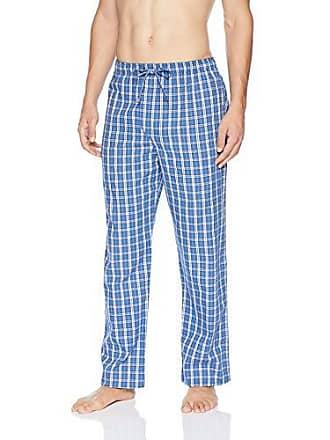 6ae4c3b866 Derek Rose Mens Ranga 32 Blue Cotton Flannel Lounge Pant