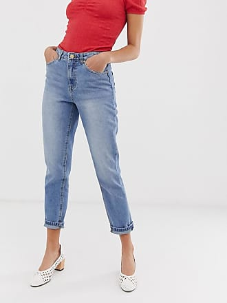 Only Mom-Jeans-Blau