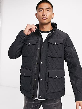 Timberland quilted m65 jacket-Black