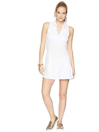 Lilly Pulitzer UPF 50+ Luxletic Martina Tennis Dress (Resort White Perfect Match Jacquard) Womens Dress