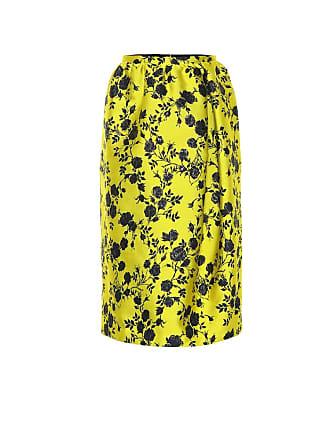 Rochas Omorus floral brocade midi skirt