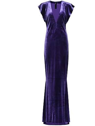 Norma Kamali Velvet gown