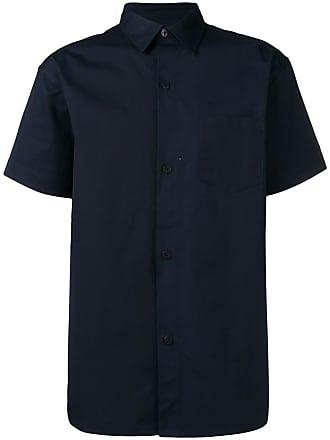 Han Kjobenhavn Camisa mangas curtas com estampa de logo - Azul