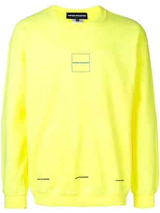 United Standard Moletom decote careca - Amarelo