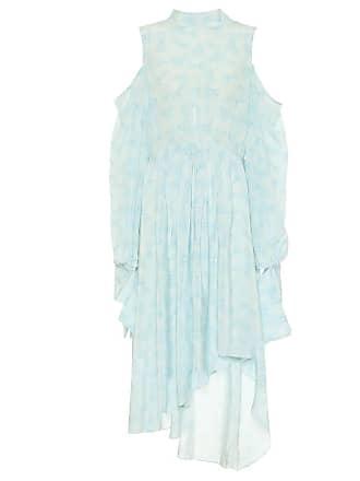 Rokh Printed silk crêpe de chine dress