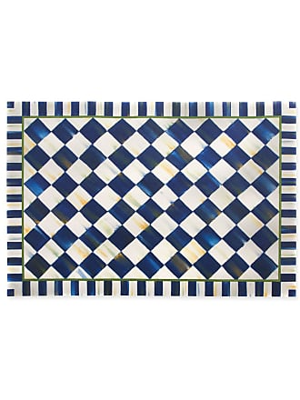 MacKenzie-Childs Royal Check Floor Mat, 3 x 5