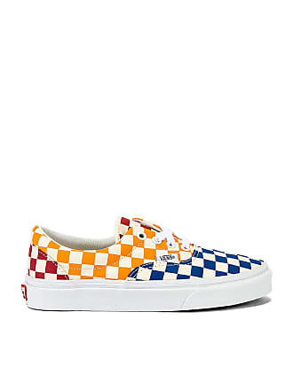 Vans Era Checkerboard Sneaker in Blue