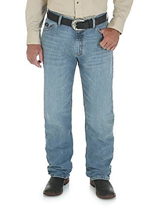 Wrangler Mens 20X Cool Vantage Competition Relaxed Fit Ocean Blue Jean, Ocean Blue, 30x34