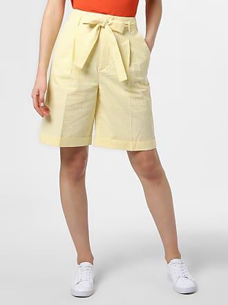 HUGO BOSS Damen Shorts - Sarlie gelb