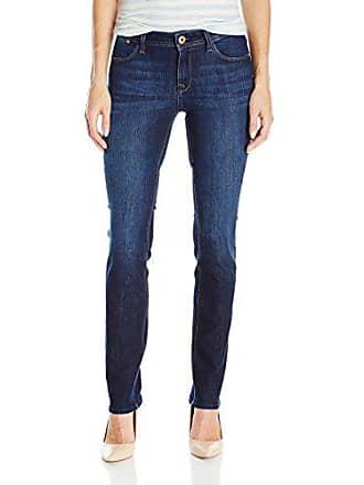 DL1961 Womens Coco Curvy Slim Straight Jeans, Solo, 31
