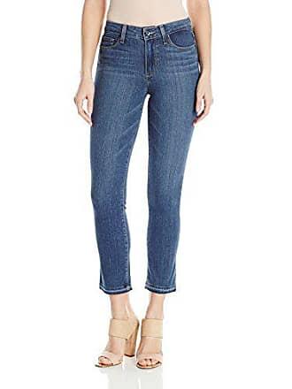 Paige Womens Jacqueline Straight Leg Jeans, Marla, 25