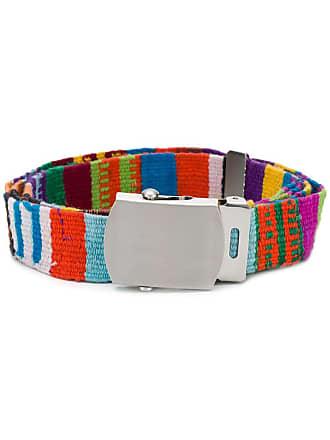 Ymc You Must Create patterned belt - Green
