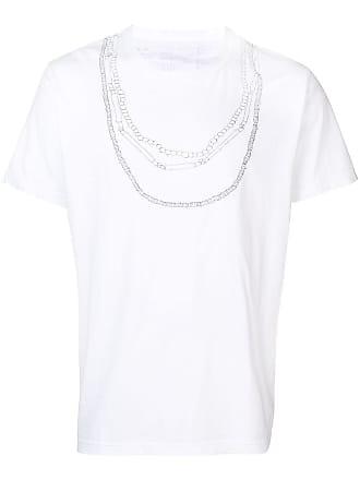 Visvim Camiseta com estampa de colar - Branco