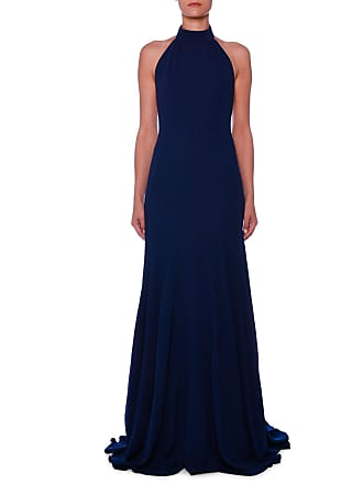 80f7964cdfd4 Stella McCartney Halter Open-Back A-Line Stretch-Cady Evening Gown