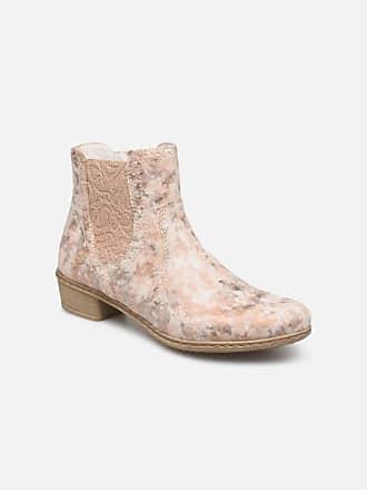 b4912e324c3 Rieker Gabie Y0771 - Boots en enkellaarsjes voor Dames / Roze