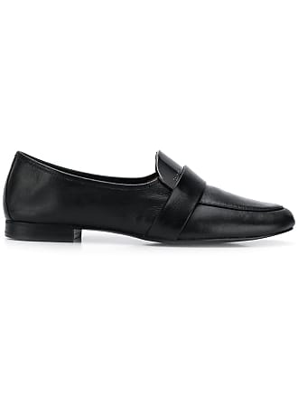 2653a2aca07 CALVIN KLEIN 205W39NYC logo embossed loafers - Black
