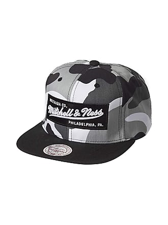 a502d4fd7ee Mitchell   Ness Men Caps Snapback Cap Box Logo Camouflage - 465823  Adjustable