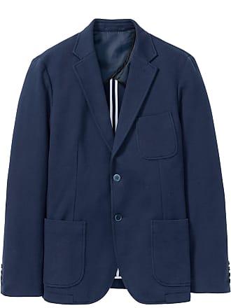 d959b4a49adc Bonprix Herr Bomullskavaj i blå lång ärm - bpc selection