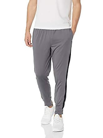 Starter Mens Tech Knit Jogger with Mesh, Iron Grey, Large