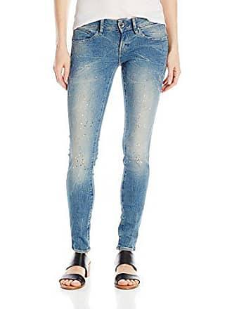 969c007a65 G-Star Midge Zip Low Waist Super Skinny Azul