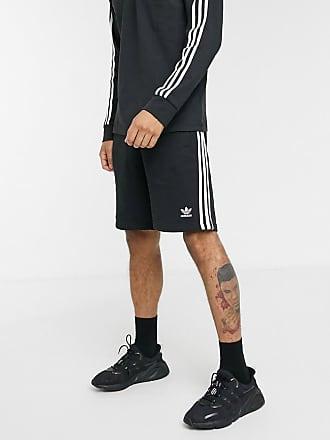 adidas Originals Short met 3 strepen in zwart