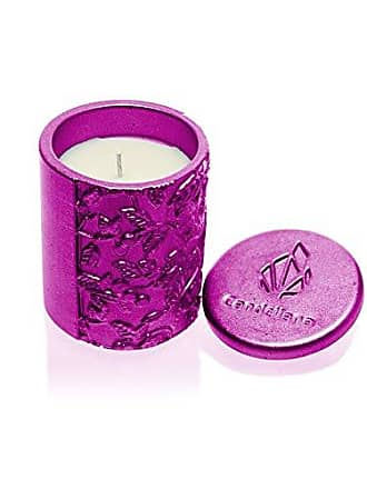 Poly I Orient Vanilla Scent Candellana Candles Candlefort Concrete Candle Blue Metallic
