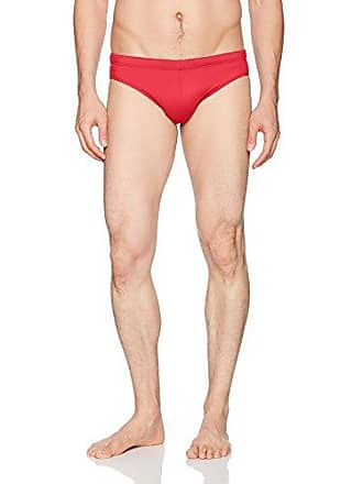Diesel Mens Jack Lycra Mohican Swim Brief, red, X-Large