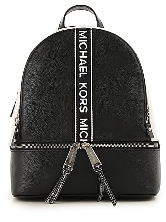 75f9bbd7cb67 Michael Kors Backpack for Women On Sale, Black, Leather, 2017, one size
