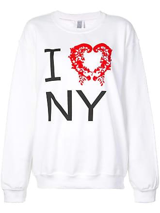 Rosie Assoulin Moletom com estampa I Heart NY - Branco