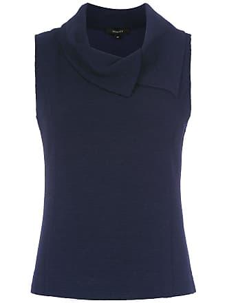 Fillity Blusa gola ampla - Azul