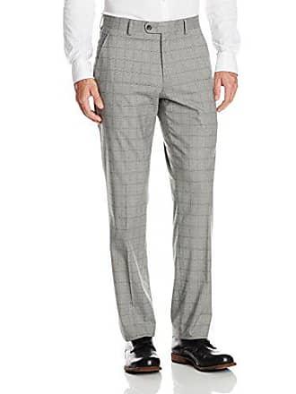 Perry Ellis Mens Modern Fit Suit Separate Pant (Blazer, Pant, Vest), Grey, 38W x 30L